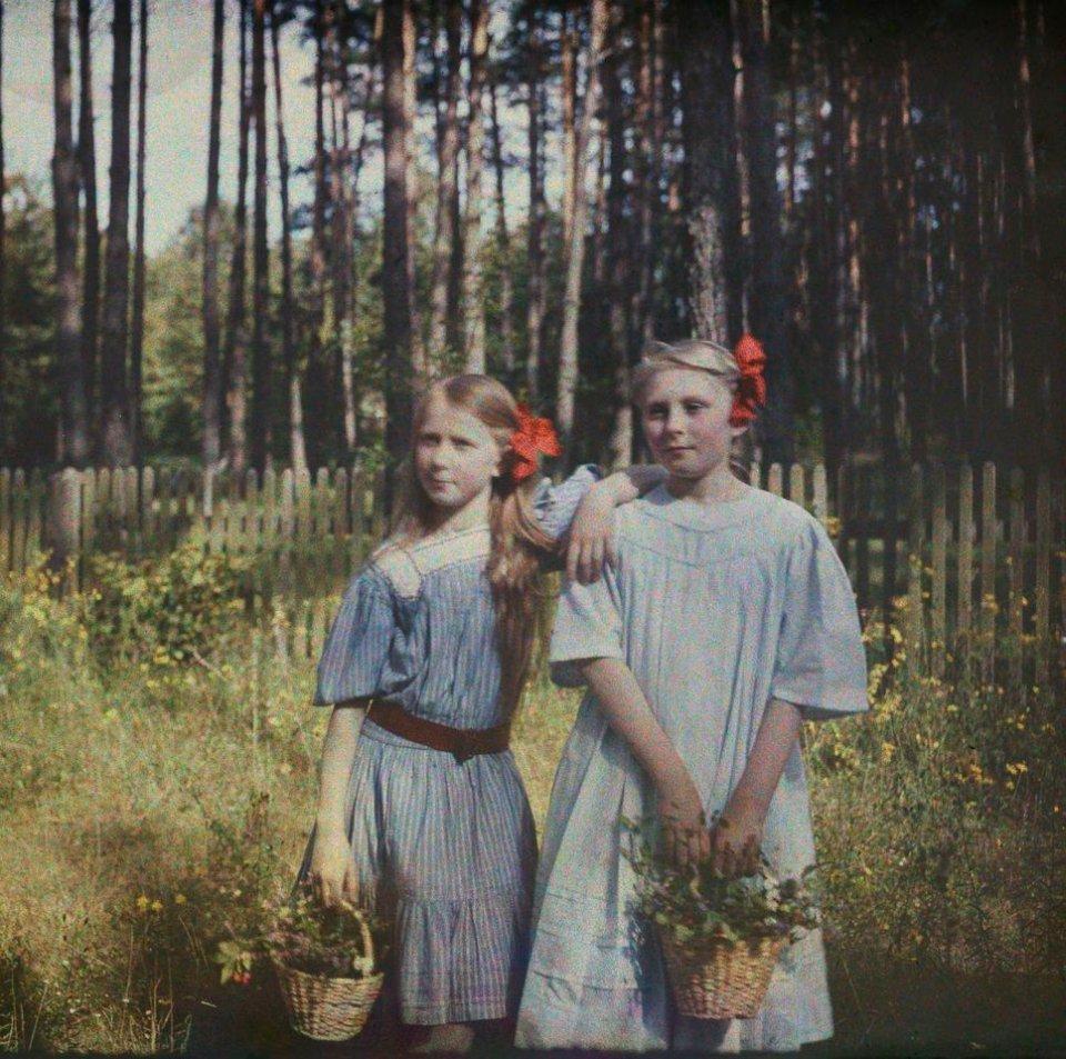 A. Iwaszkiewicz i M. Wysocką - Rok 1909 - Foto: Stanisław Wilhelm Lilpop