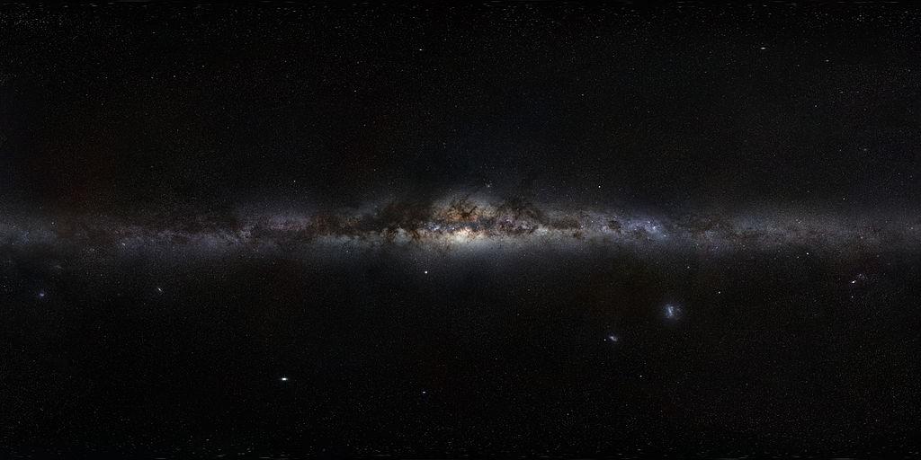 Droga Mleczna - Autor: ESO/S. Brunier Źródło: The Milky Way Panorama