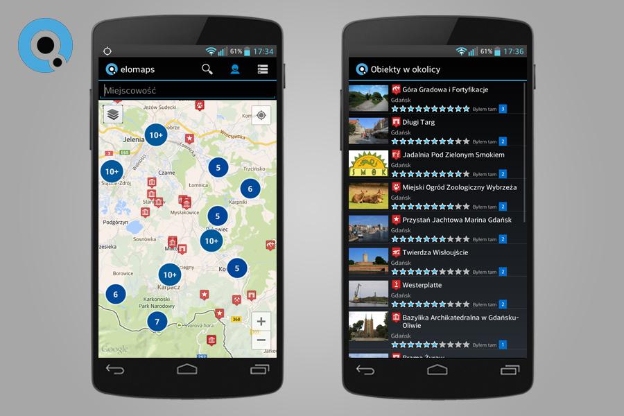Elomaps - Lista Przydatnych Aplikacji Turystycznych