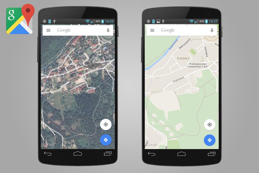 Aplikacja Google Maps - Lista Przydatnych Aplikacji Turystycznych