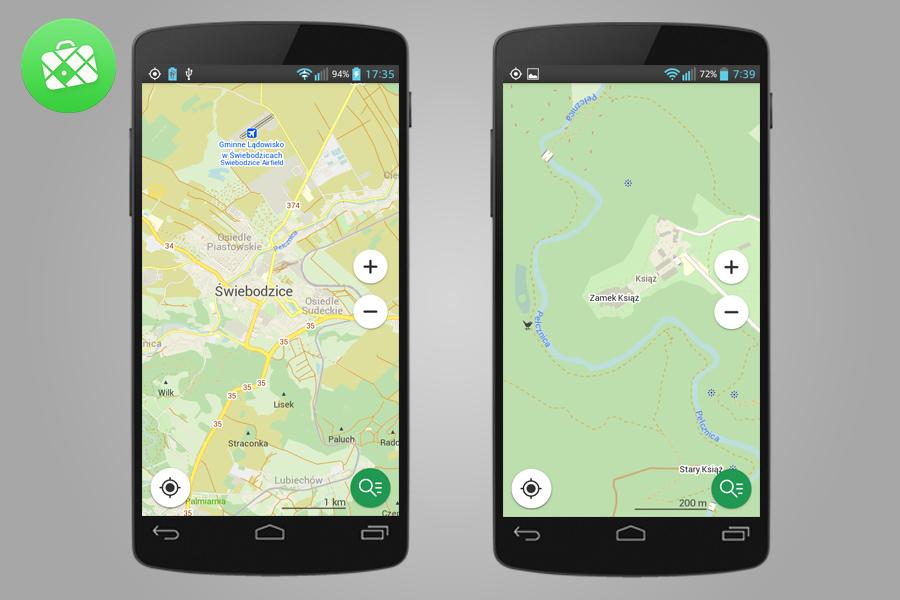 Maps.me - Lista Przydatnych Aplikacji Turystycznych