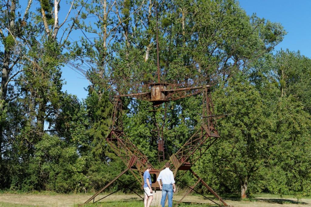 Szkielet Radioteleskopu RT-2