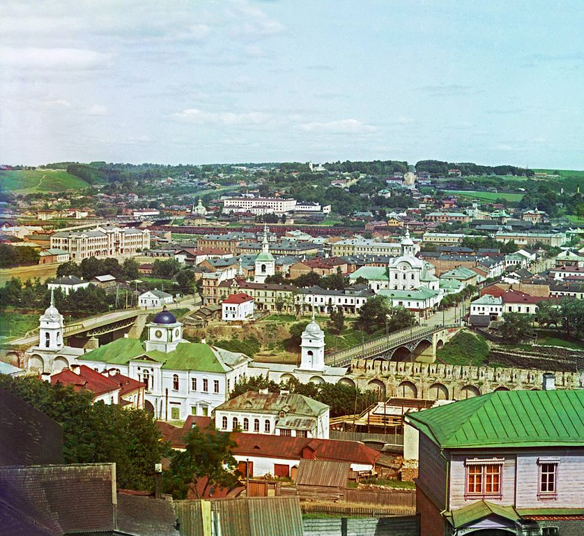 Panorama Smoleńska. Lata 1911-1912.