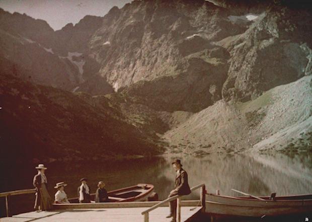 Tatry i Morskie Oko - Rok 1914 - Foto: Tadeusz Rząca