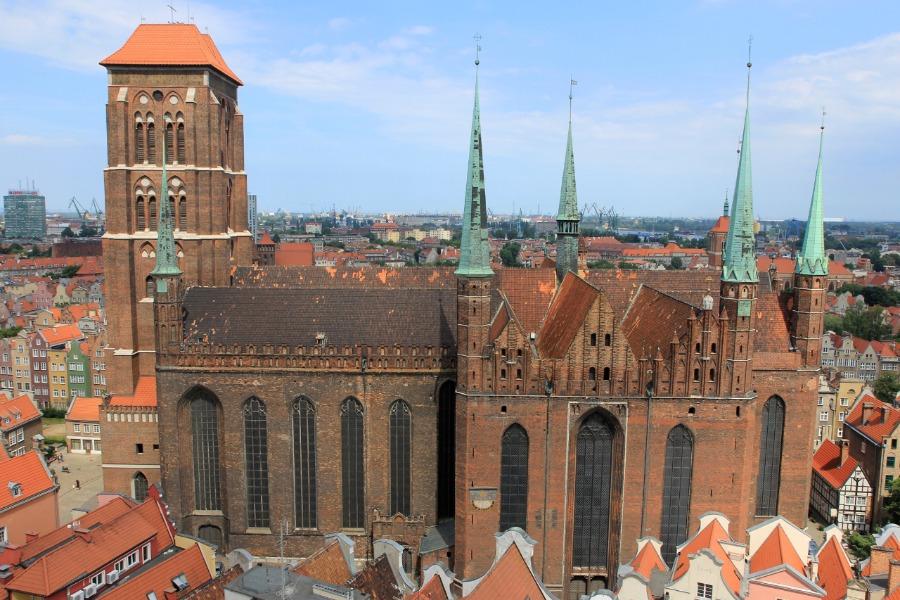 Bazylika Mariacki w Gdańsku - Atrakcje Turystyczne Pomorze - Foto: Tomasz Kapczyński
