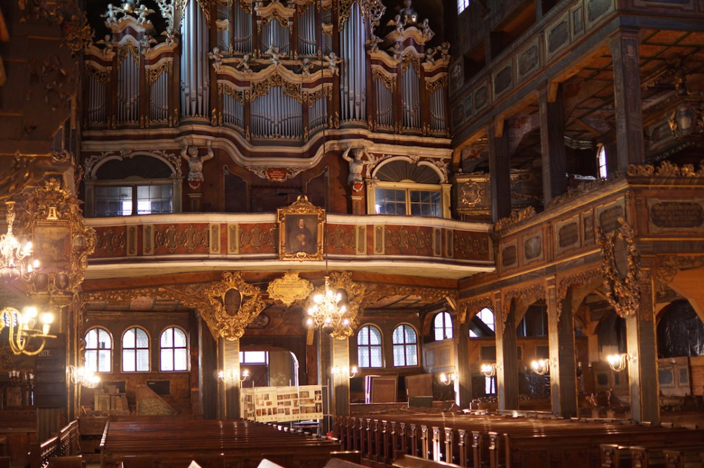 Wnętrze Kościoła Pokoju w Świdnicy - Atrakcje Turystyczne Dolny Śląsk