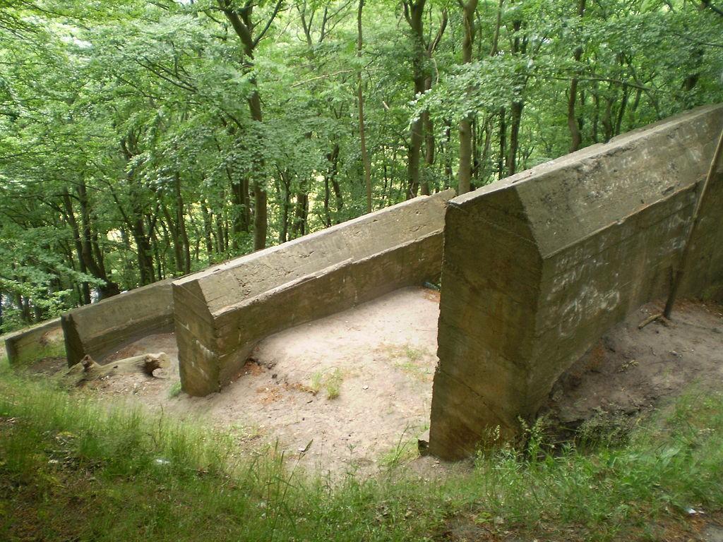 Wyrzutnie Rakiet V3 na Wyspie Wolin - Foto: Adam Z., nephew of Julo Źródło: commons.wikimedia.org