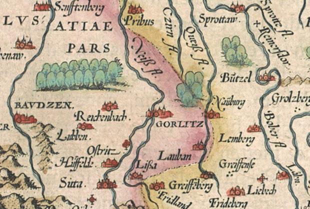 Zachodnia granica Śląska w XVI wieku