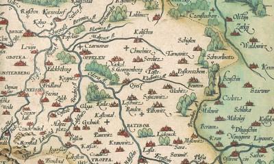 mapa slaska