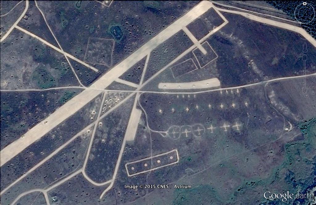 Poligon Lotniczy Nadarzyce - 10 Ciekawych Miejsc w Polsce - Źródło: Google Earth