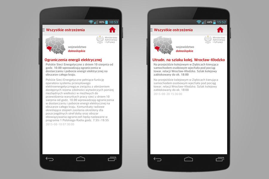Informacje o ograniczeniu energii elektrycznej oraz o utrudnieniach komunikacyjnych