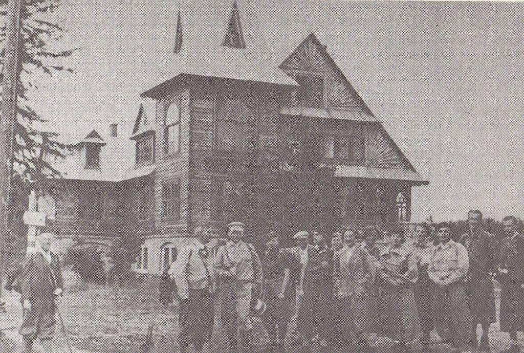 Schronisko PTN w Siankach - 5 opuszczonych osad i miejscowości