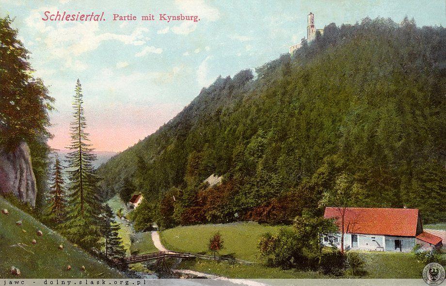 Schlesiertal i Zamek Grodno - Źródło dolny-slask.org.pl