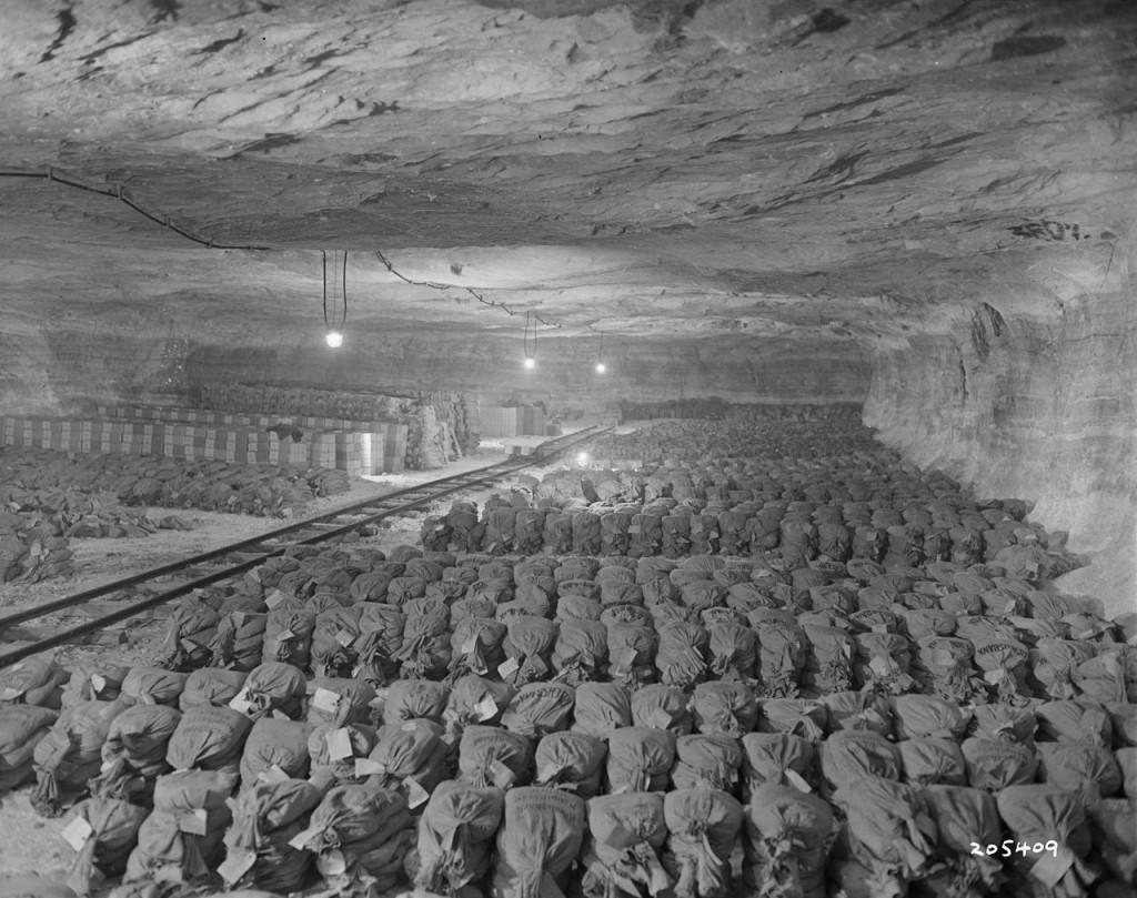Skarby ukryte w kopalni w Merkers - Złoto III Rzeszy