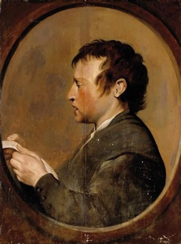 Portret Czytającego Mężczyzny - Pieter de Grebber