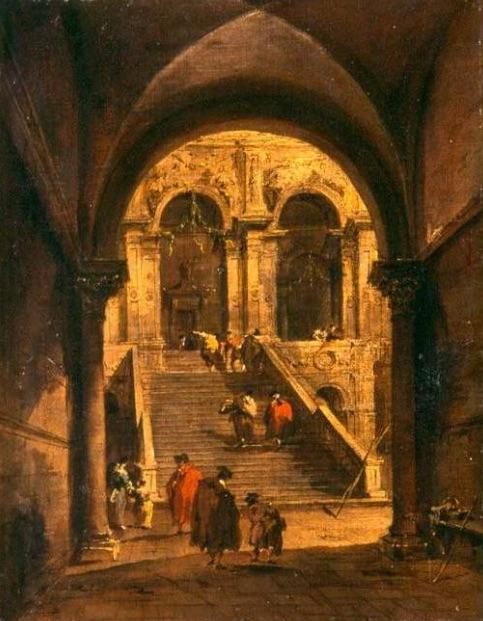 Schody Pałacowe - Francesco Guardi