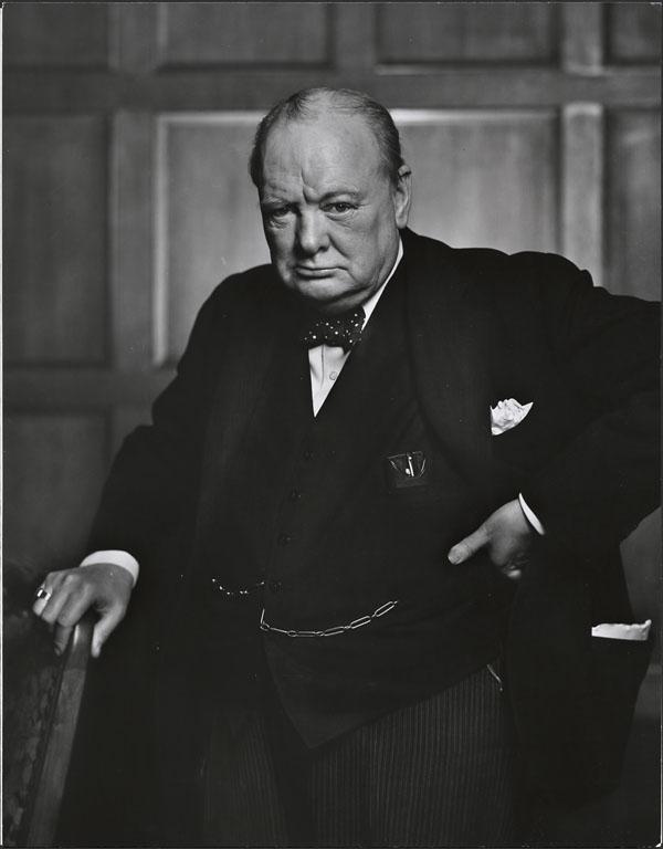 Winston Churchill (1874-1965) - Autor wielu sławnych wypowiedzi