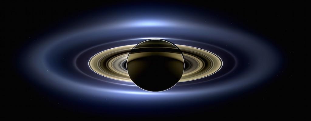 Na zdjęciu widzimy pierścienie Saturna - Foto: NASA/JPL-Caltech/SSI
