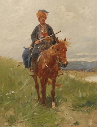Czaty - Józef Brandt