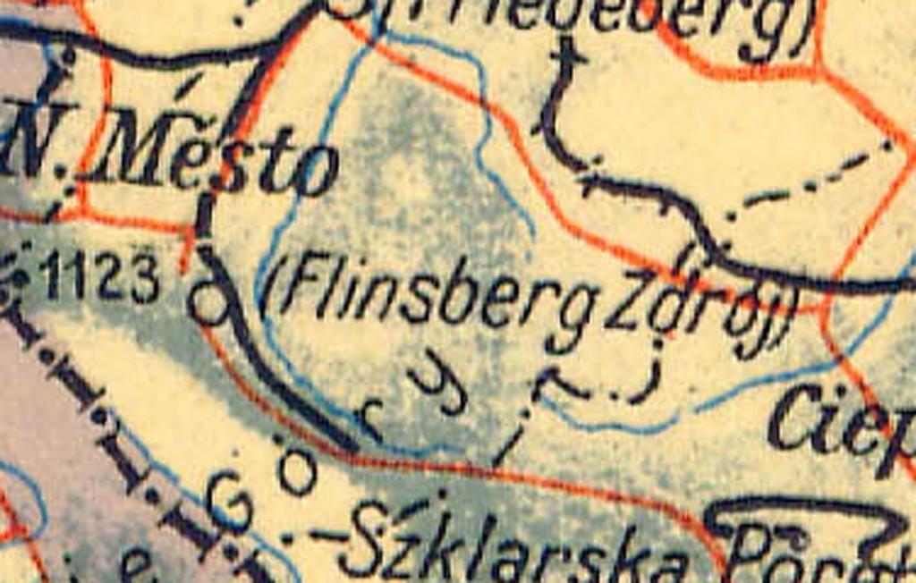 Flinsberg Zdrój - Powojenna mapa Polski - Źródło: polski.mapywig.org