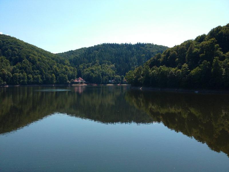 Jezioro Lubachowskie (Bystrzyckie) 2013 rok - Historia Zatopionych Miejsc