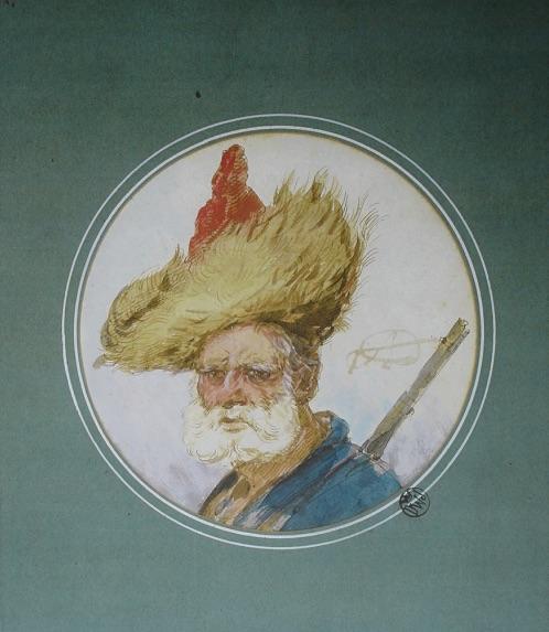 Mężczyzna w futrzanej czapce - Aleksander Orłowski