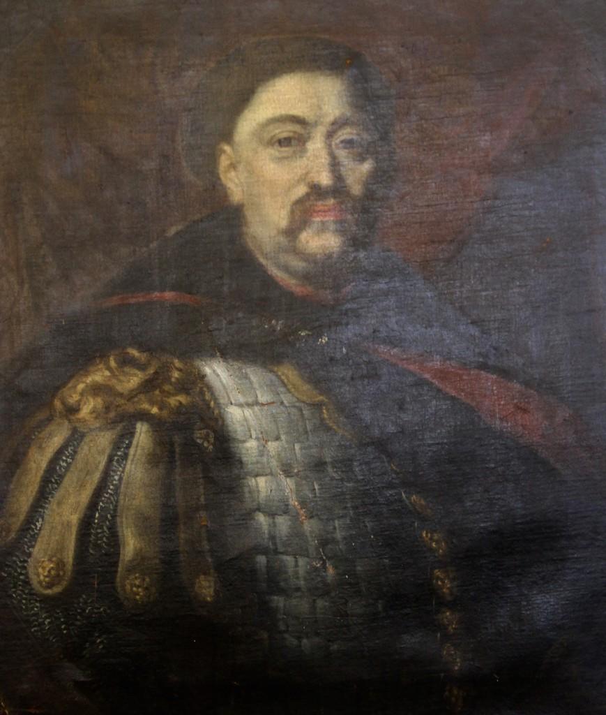 XIX-wieczny portret Jana III Sobieskiego - Zrabowane i odzyskane obrazy