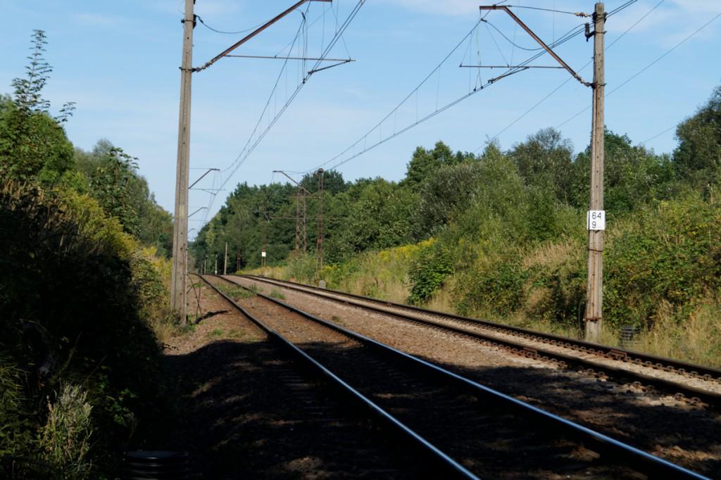 """Drugi z przypuszczalnych rejonów ukrycia """"złotego pociągu"""" - 65 km linii Wrocław-Wałbrzych"""