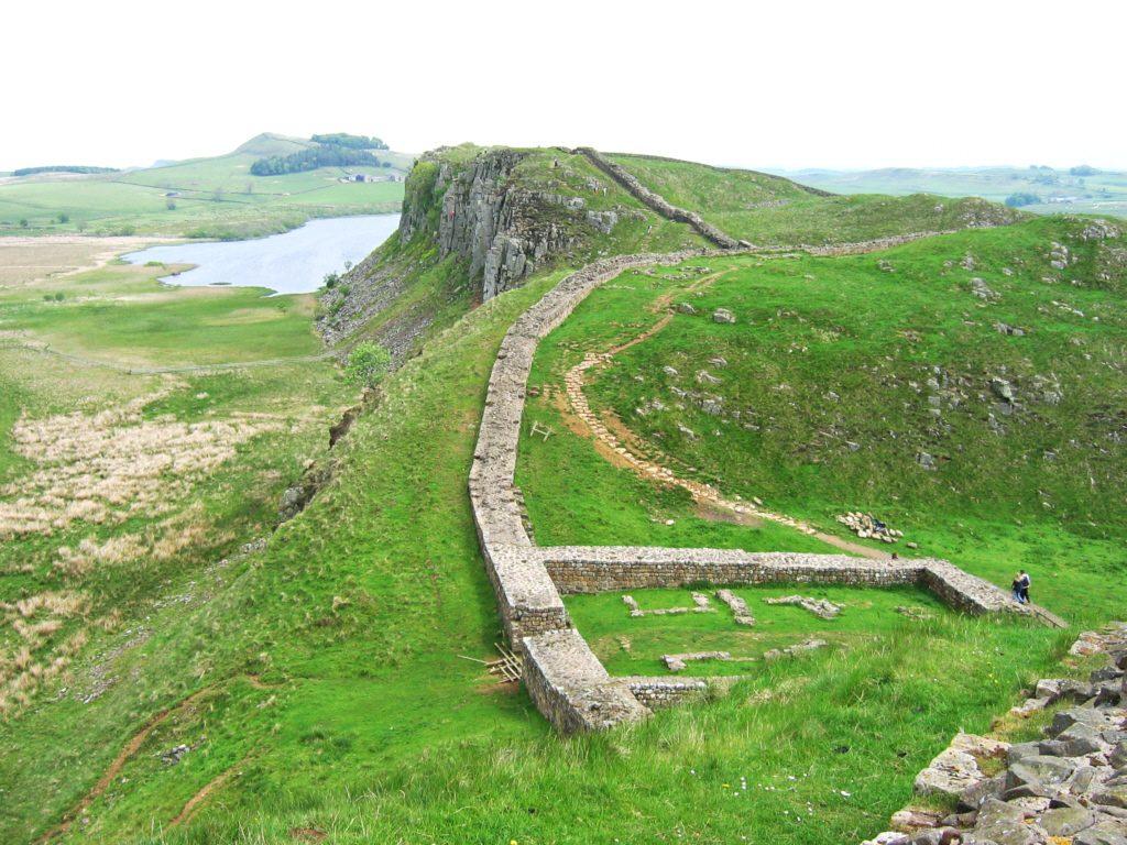 Wał Hadriana - Foto: Michael Hanselmann Źródło: commons.wikimedia.org