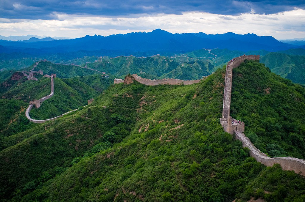 Wielki Mur Chiński - Foto: Severin.stalder Źródło: commons.wikimedia.org