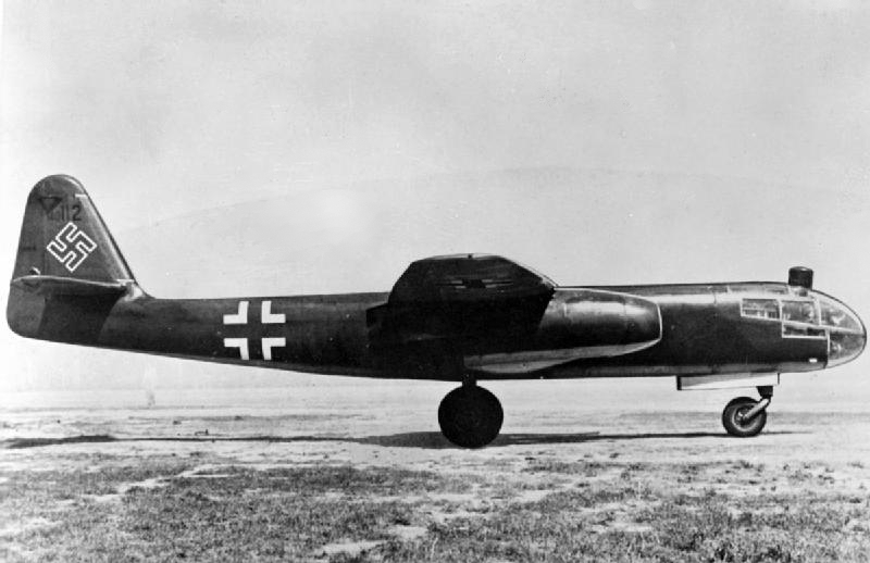 Jeden z pierwszych odrzutowych bombowców - Arado Ar 234