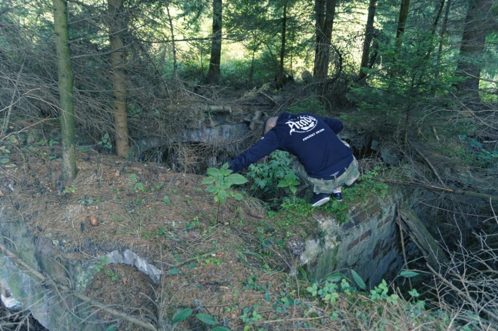 Pozostałości fabryki amunicji w Kamiennej Górze