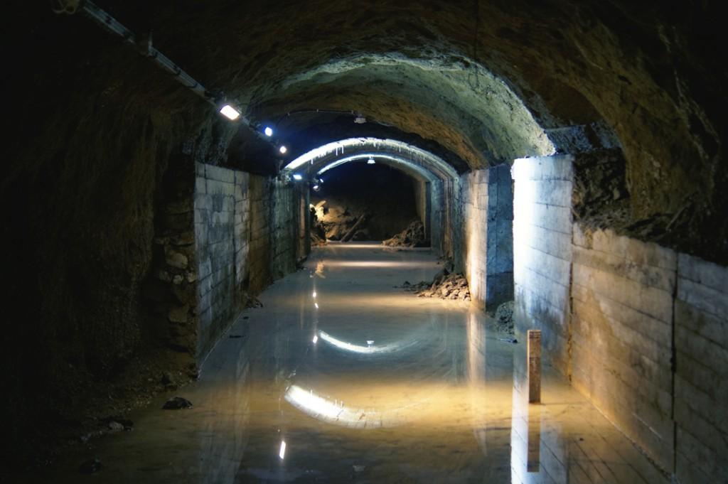 Podziemia pod Górą Parkową zagospodarowane przez Projekt Arado.