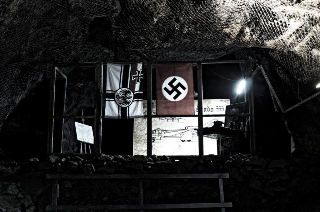 Przerażająca symbolika z czasów II Wojny Światowej.