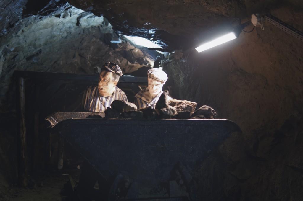 Historia podziemi Kamiennej Góry to także przymusowa praca więźniów obozów.