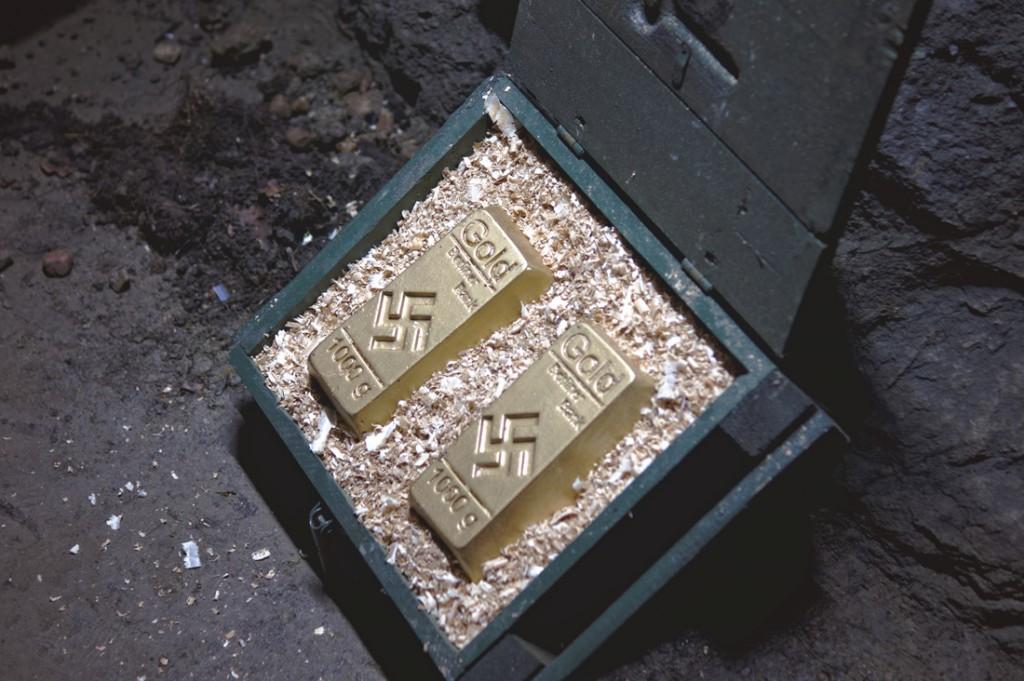 Wszyscy szukają skarbów i złota w Wałbrzychu, tymczasem w Arado... :)