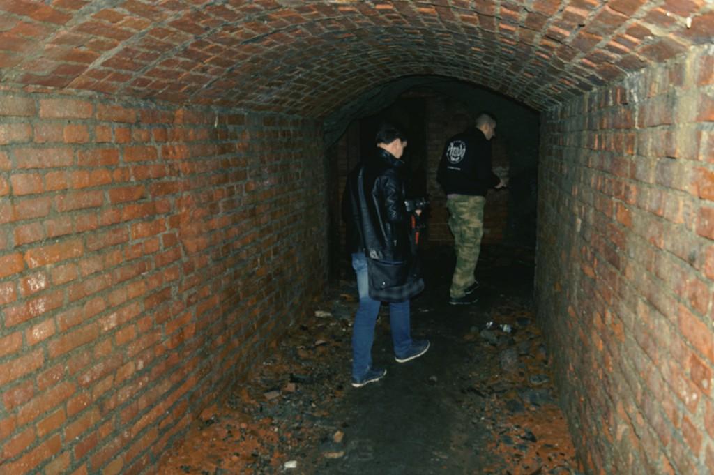 Sztolnie pod Górą Szubianką, część posiada obudowę ceglaną.