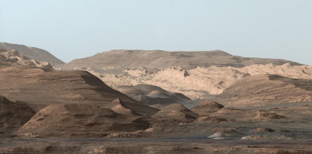 Niezwykły marsjański krajobraz - Foto: NASA/JPL-Caltech/MSSS