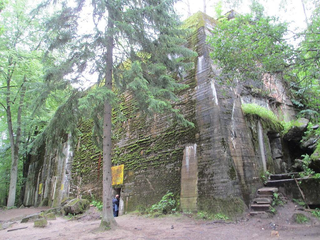 Wilczy Szaniec w Gierłoży - Źródło: commons.wikimedia.org Foto: Avi1111 dr. avishai teicher