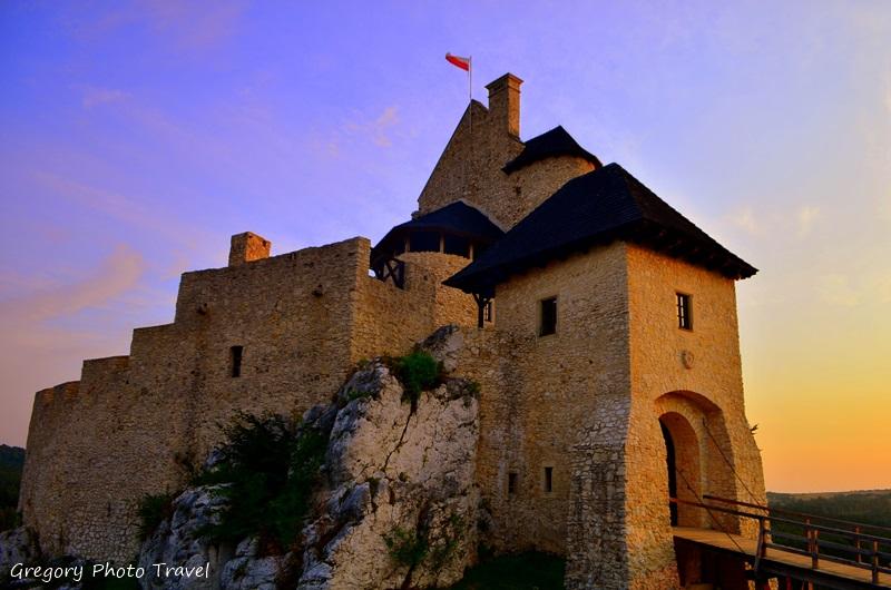 Zamek Bobolice - Foto: Grzegorz Posała