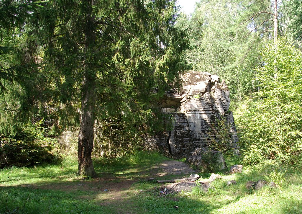Bunkier Himmlera - Ciekawe Miejsca na Mazurach - Foto: Janericloebe Źródło: commons.wikimedia.org