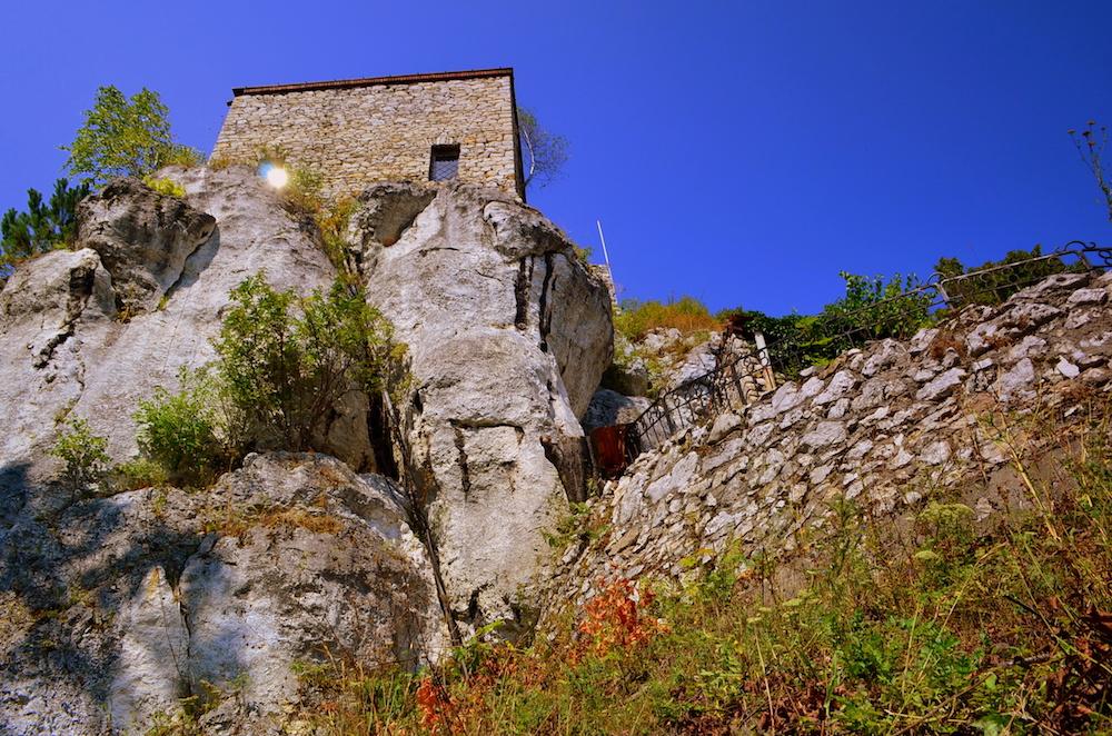 Zamek Bąkowiec w Morsku - Foto: Grzegorz Posała