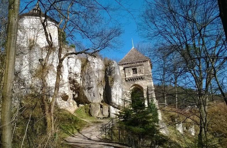 Zamek w Ojcowie - Szlak Orlich Gniazd - Foto: Grzegorz Posała