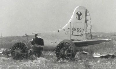 wrak b-17 wierzbna