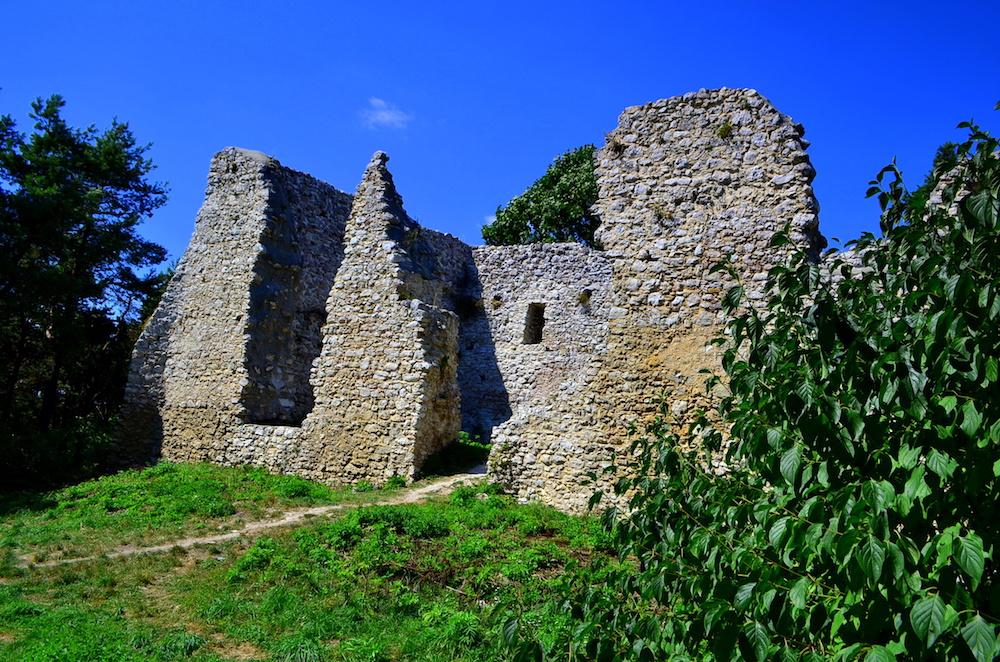 Zamek w Bydlinie - Szlak Orlich Gniazd - Foto: Grzegorz Posała