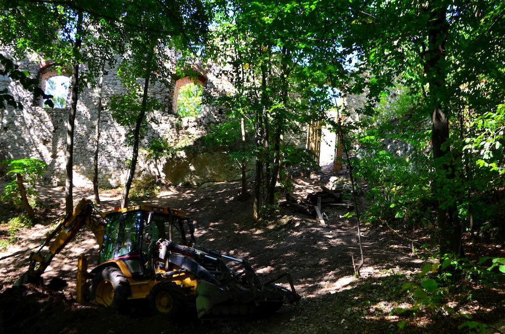 Zamek Pilcza w Smoleniu - Szlak Orlich Gniazd - Foto: Grzegorz Posała