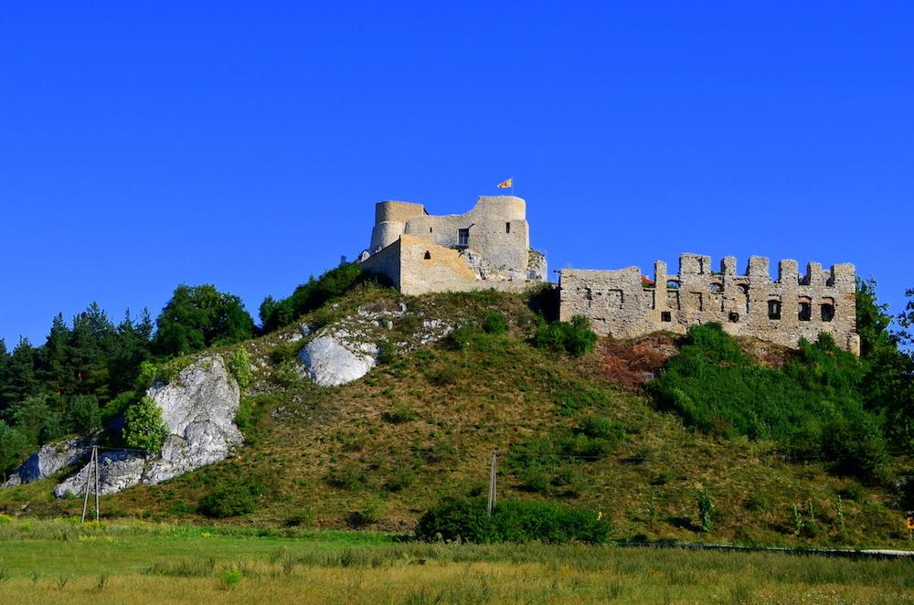 Zamek w Rabsztynie - Szlak Orlich Gniazd - Foto: Grzegorz Posała