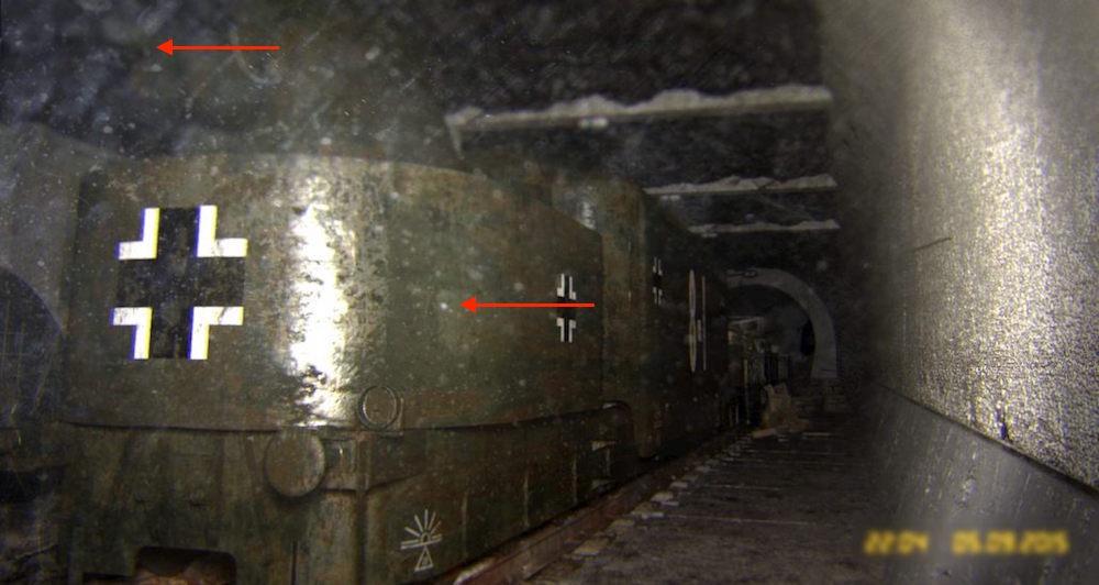 """Fałszywe zdjęcia """"złotego pociągu"""" - Źródło: Fakt.pl"""