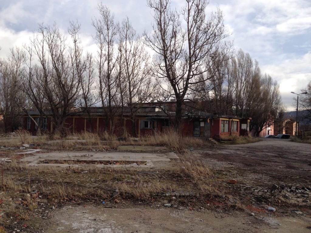 Wzgórze Matyldy, po zakładach IG Farben pozostał tylko gruz - Grudzień 2015