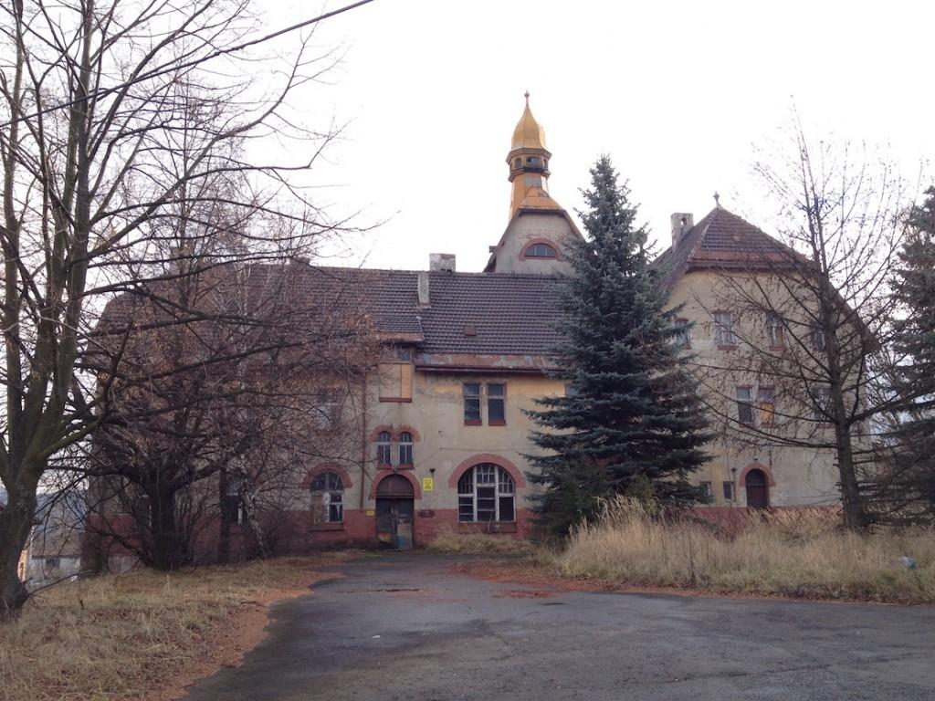 Zabytkowy Gościniec z końca XIX wieku - Wzgórze Matyldy